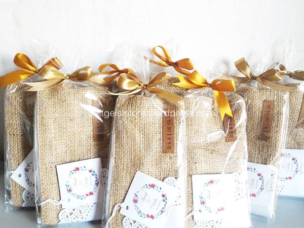 burlap pouch jakarta, souvenir pernikahan eco, souvenir pernikahan pouch rustic, wedding souvenir kekinian