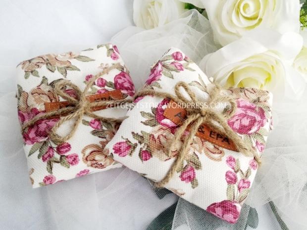 rustic wedding, jute wrapping, souvenir rustic, tas bunga-bunga tali goni